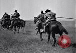 Image of United States Army 1st Cavalry Division troops on maneuvers Texas United States USA, 1923, second 58 stock footage video 65675036445