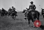 Image of United States Army 1st Cavalry Division troops on maneuvers Texas United States USA, 1923, second 59 stock footage video 65675036445