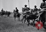 Image of United States Army 1st Cavalry Division troops on maneuvers Texas United States USA, 1923, second 62 stock footage video 65675036445