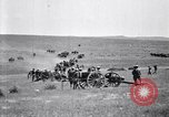 Image of U.S. Army cavalry and artillery units on maneuvers in Marfa, Texas Marfa Texas USA, 1923, second 50 stock footage video 65675036446