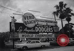 Image of Los Angeles Dodgers in Spring Training Vero Beach Florida United States USA, 1964, second 6 stock footage video 65675036636