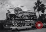 Image of Los Angeles Dodgers in Spring Training Vero Beach Florida United States USA, 1964, second 8 stock footage video 65675036636