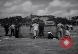 Image of Los Angeles Dodgers in Spring Training Vero Beach Florida United States USA, 1964, second 39 stock footage video 65675036636