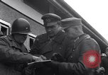 Image of 11th German Panzer Division surrender Neumark Czechoslovakia, 1945, second 14 stock footage video 65675037232