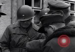Image of 11th German Panzer Division surrender Neumark Czechoslovakia, 1945, second 34 stock footage video 65675037232
