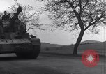 Image of German tanks and vehicles Neumark Czechoslovakia, 1945, second 17 stock footage video 65675037233