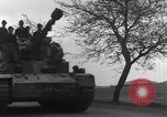 Image of German tanks and vehicles Neumark Czechoslovakia, 1945, second 18 stock footage video 65675037233