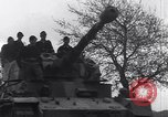 Image of German tanks and vehicles Neumark Czechoslovakia, 1945, second 19 stock footage video 65675037233