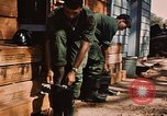 Image of 85th Engr Fire Fighters Team Lai Khe South Vietnam, 1968, second 34 stock footage video 65675037291