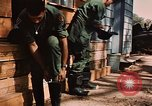 Image of 85th Engr Fire Fighters Team Lai Khe South Vietnam, 1968, second 36 stock footage video 65675037291