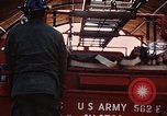 Image of 85th Engr Fire Fighters Team Lai Khe South Vietnam, 1968, second 47 stock footage video 65675037291