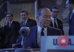 Image of William C Foster Director of the Arms Control and Disarmament Agency Geneva Switzerland, 1969, second 19 stock footage video 65675037575