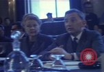 Image of William C Foster Director of the Arms Control and Disarmament Agency Geneva Switzerland, 1969, second 43 stock footage video 65675037575