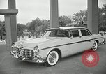 Image of Chrysler Corporation auto show United States USA, 1955, second 3 stock footage video 65675037651