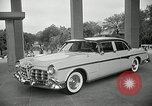 Image of Chrysler Corporation auto show United States USA, 1955, second 5 stock footage video 65675037651