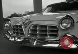 Image of Chrysler Corporation auto show United States USA, 1955, second 13 stock footage video 65675037651