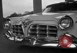 Image of Chrysler Corporation auto show United States USA, 1955, second 14 stock footage video 65675037651