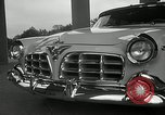 Image of Chrysler Corporation auto show United States USA, 1955, second 15 stock footage video 65675037651