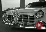 Image of Chrysler Corporation auto show United States USA, 1955, second 16 stock footage video 65675037651