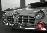 Image of Chrysler Corporation auto show United States USA, 1955, second 17 stock footage video 65675037651
