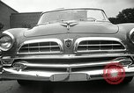 Image of Chrysler Corporation auto show United States USA, 1955, second 53 stock footage video 65675037651