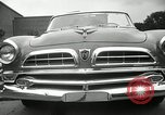 Image of Chrysler Corporation auto show United States USA, 1955, second 54 stock footage video 65675037651