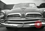 Image of Chrysler Corporation auto show United States USA, 1955, second 55 stock footage video 65675037651