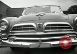 Image of Chrysler Corporation auto show United States USA, 1955, second 56 stock footage video 65675037651