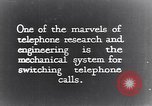 Image of early telephone switching and dialing United States USA, 1926, second 2 stock footage video 65675039599