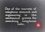 Image of early telephone switching and dialing United States USA, 1926, second 7 stock footage video 65675039599