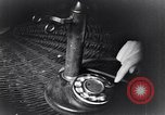 Image of early telephone switching and dialing United States USA, 1926, second 25 stock footage video 65675039599