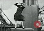 Image of SS Leviathan Atlantic Ocean, 1928, second 58 stock footage video 65675039798