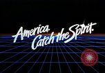 Image of 1980s scenes in Hollywood Santa Monica San Francisco and Las Vegas United States USA, 1986, second 38 stock footage video 65675039831