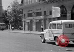Image of White UN van displaying a white flag Tripoli Libya, 1962, second 35 stock footage video 65675039879
