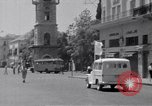 Image of White UN van displaying a white flag Tripoli Libya, 1962, second 37 stock footage video 65675039879