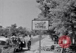 Image of White UN van displaying a white flag Tripoli Libya, 1962, second 39 stock footage video 65675039879