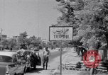 Image of White UN van displaying a white flag Tripoli Libya, 1962, second 40 stock footage video 65675039879