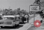 Image of White UN van displaying a white flag Tripoli Libya, 1962, second 41 stock footage video 65675039879