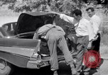 Image of White UN van displaying a white flag Tripoli Libya, 1962, second 43 stock footage video 65675039879