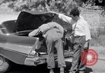 Image of White UN van displaying a white flag Tripoli Libya, 1962, second 44 stock footage video 65675039879