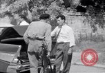 Image of White UN van displaying a white flag Tripoli Libya, 1962, second 46 stock footage video 65675039879