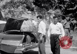 Image of White UN van displaying a white flag Tripoli Libya, 1962, second 49 stock footage video 65675039879