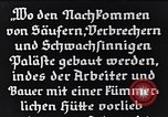 Image of German mental patients pre World War 2 Germany, 1934, second 10 stock footage video 65675039979