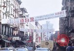 Image of Chinatown New York City New York City USA, 1970, second 16 stock footage video 65675040531