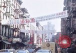 Image of Chinatown New York City New York City USA, 1970, second 18 stock footage video 65675040531
