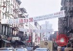Image of Chinatown New York City New York City USA, 1970, second 19 stock footage video 65675040531