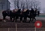 Image of Farmer plowing field New York United States USA, 1970, second 31 stock footage video 65675040534
