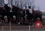 Image of Farmer plowing field New York United States USA, 1970, second 42 stock footage video 65675040534
