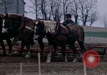 Image of Farmer plowing field New York United States USA, 1970, second 44 stock footage video 65675040534