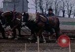 Image of Farmer plowing field New York United States USA, 1970, second 45 stock footage video 65675040534